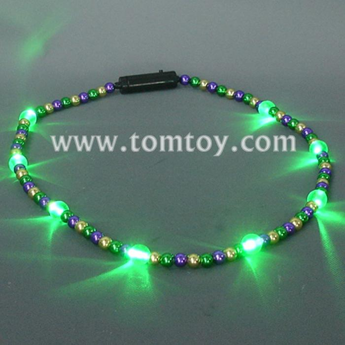 mardi gras shiny beads necklace tm041-050-pgg.jpg