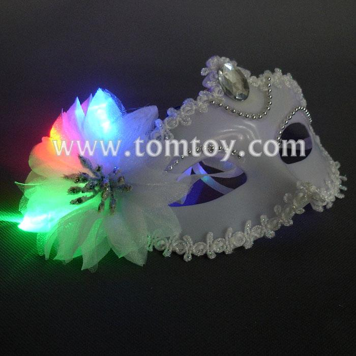 masquerades party led white masks tm179-009.jpg
