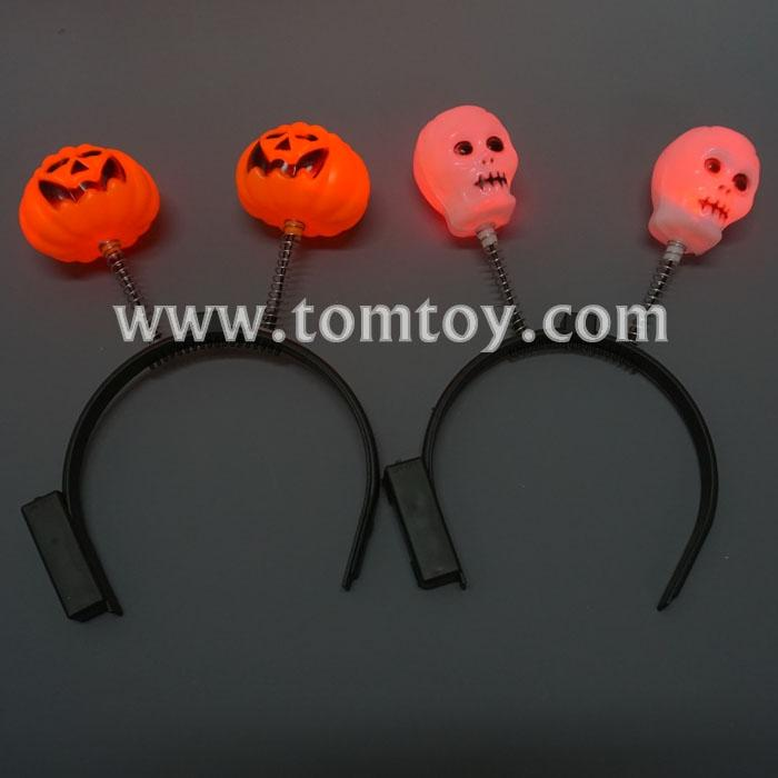 mixed led pumpkin&ghosts hairband tm02922.jpg