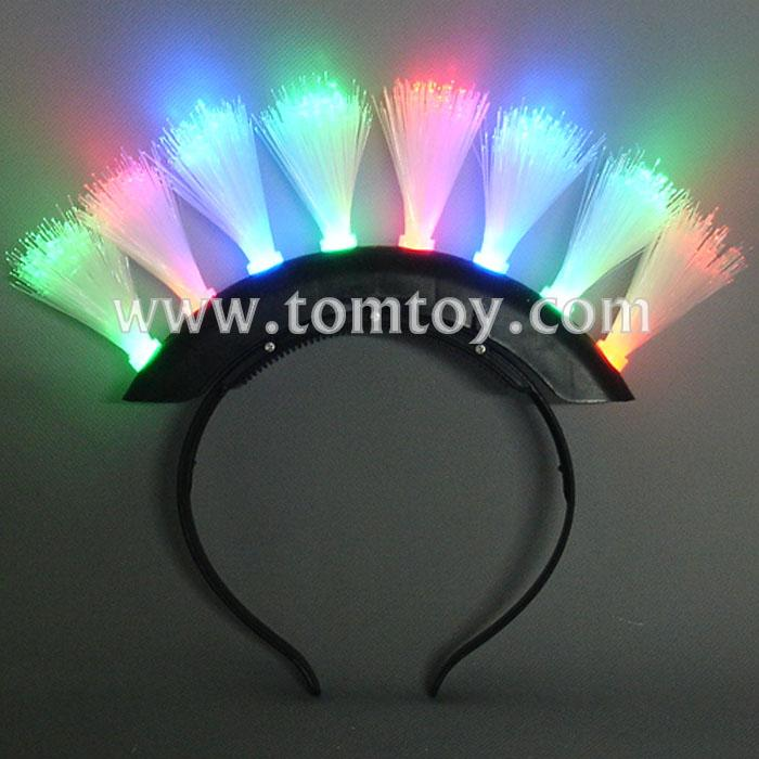 mohawk led fiber optic headband tm061-023-bk.jpg