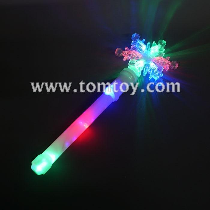 multicolor led snowflake wand tm04512.jpg