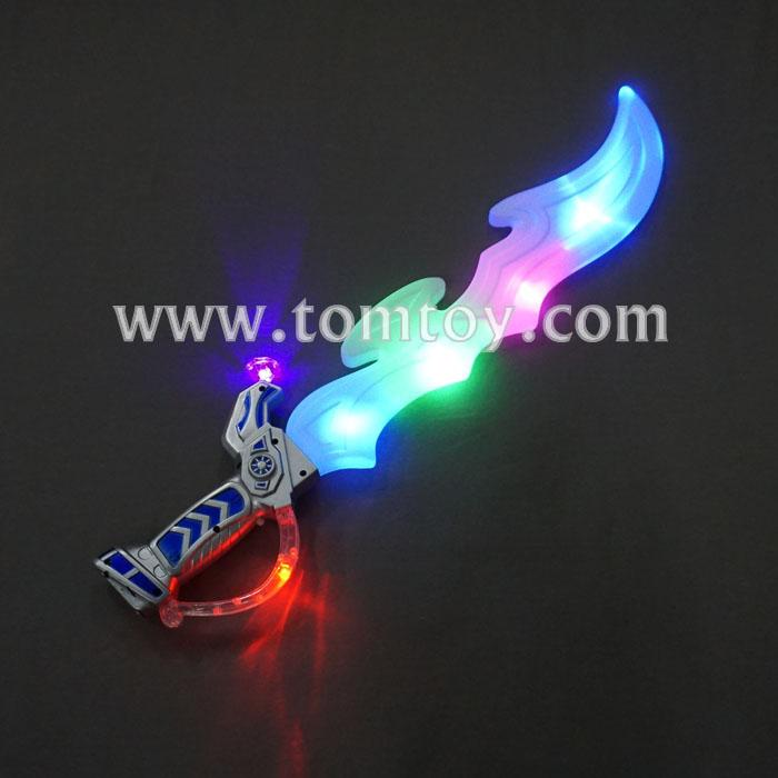 multicolored flashing pirate saber with sound tm02616 .jpg