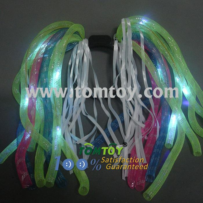 neon bright electric party multi-colored light-up noodle headband tm00327-rwbg.jpg