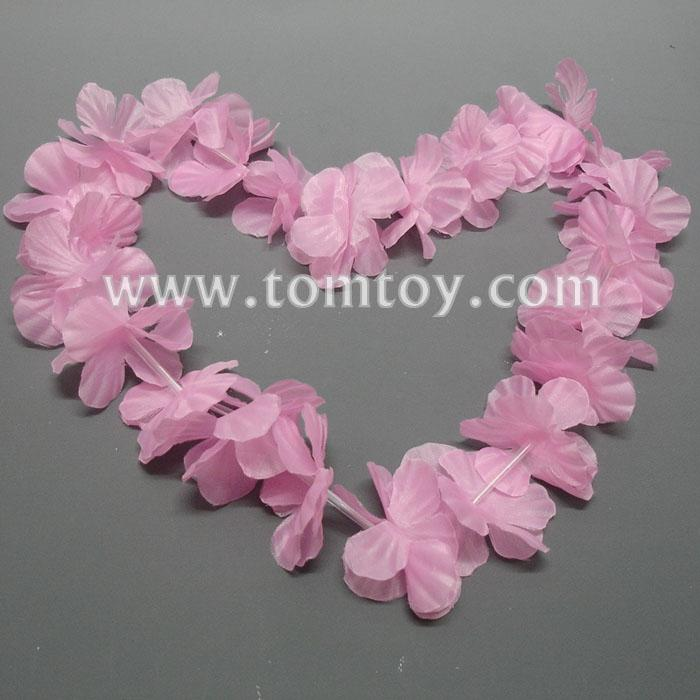 pink hawaiian flower leis tm02259-pk.jpg