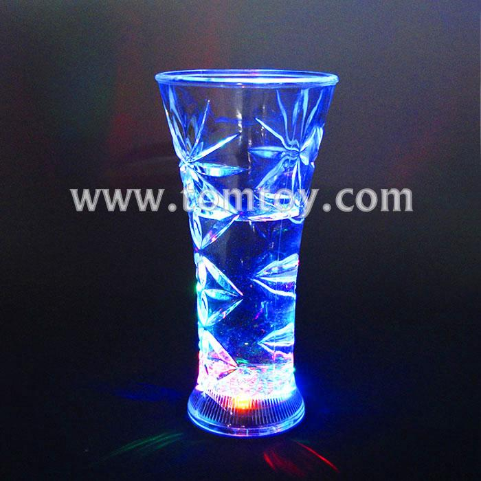 plastic shining led flash light up party supplier beer cups tm01866.jpg