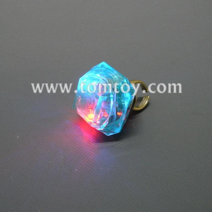 plastic square light up rings aquamarine tm02762-abl.jpg