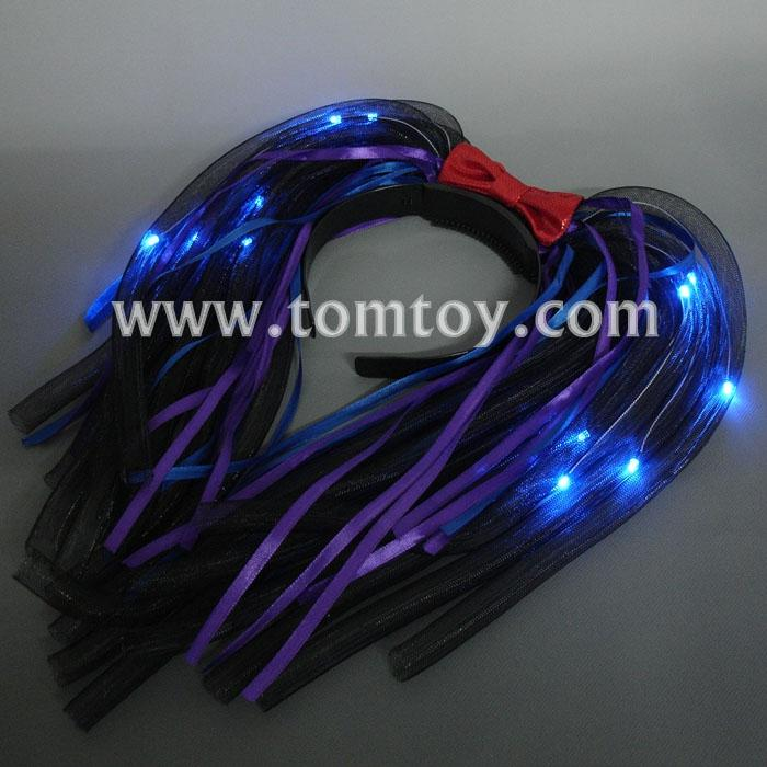 purple leds flashing noodle headband tm03019.jpg