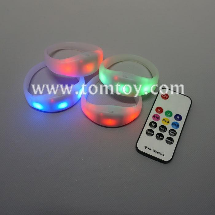 remote control party led light up bracelet silicone glow flash blinking bangle tm02882.jpg