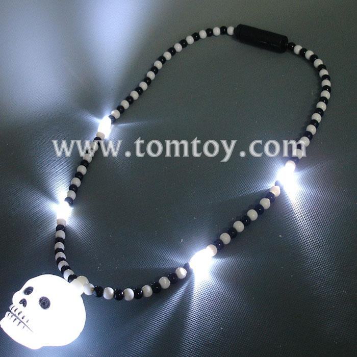 skull heads halloween necklace tm041-088.jpg
