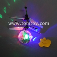 rc infrared induction helicopter ball built-in shinning led lighting tm02468