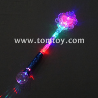 12led big heart princess wand tm012-080-bl