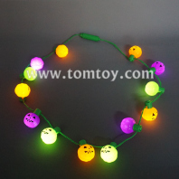 13 led colorful pumpkin necklace tm101-161-pgo