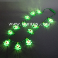 13 led light up christmas tree necklace tm101-159