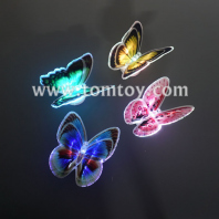 3d butterfly sticker wall light tm05041