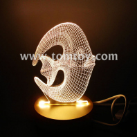 3d led fish shaped lamp tm00586