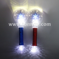 3d light up magic snowflake wand tm07007