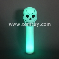 3led skull foam wand tm013-049-4