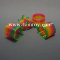 4 shapes assorted rainbow spring slinky tm03715