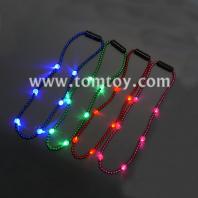 6 led beaded necklaces tm041-110-a
