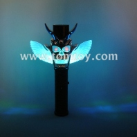 6led flashing skeletons wand tm02606