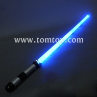 74cm blue led light sword tm013-030-bl
