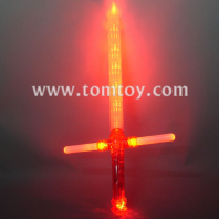 9 led light up cross sword tm013-067