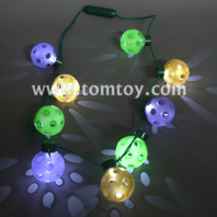 9 magic ball light up necklace tm025-100
