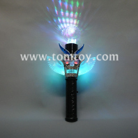 9led flashing skeletons wand with ball tm02605