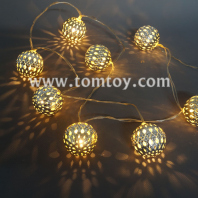 ball led string lights batteries operated tm04344