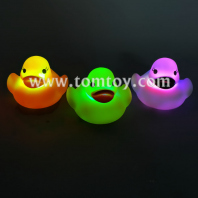 bath toy led floating duck tm06898