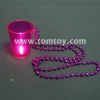 beads with light up shot glass tm025-097-pk