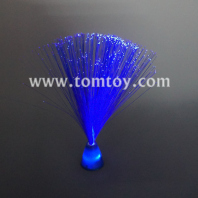 blue fiber optic centerpiece lamp tm083-052-bl