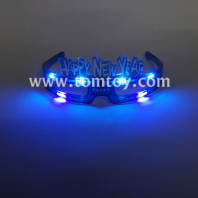 blue flashing new year glasses tm02642