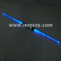 blue led extendable double sword tm012-064-bl