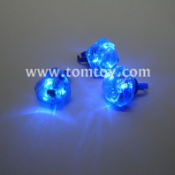 blue led rings with 3 shapes assorted tm02794-bl