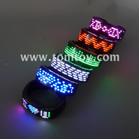 bluetooth led flashing bracelet tm06264