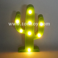cactus led night light tm06496