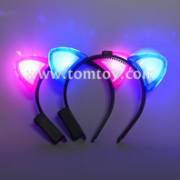 cat ears led headbands tm03353