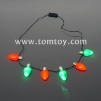 christimas bulbs necklace tm04135