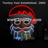 christmas el wire mask tm109-023