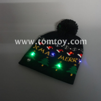 christmas led knitted hat tm04708