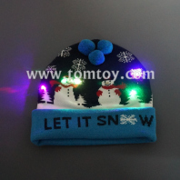 christmas led snowman hat tm291-003