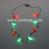 christmas led strawberry lights necklace tm03649