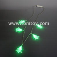 christmas tree led necklace tm05606