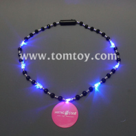 circle pendant led bead necklace tm041-108