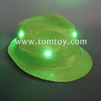 classic led light up fedora hat tm03144-lg