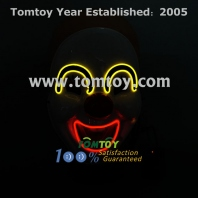 clown led el costume mask tm109-010