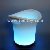 color changing led ice bucket great for dimly lit or night parties tm00924