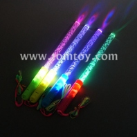 colorful acrylic led light up stick with bubble tm02562