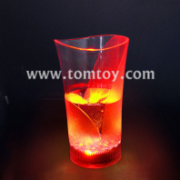 colorful led light cup flash vase beer cup tm01863